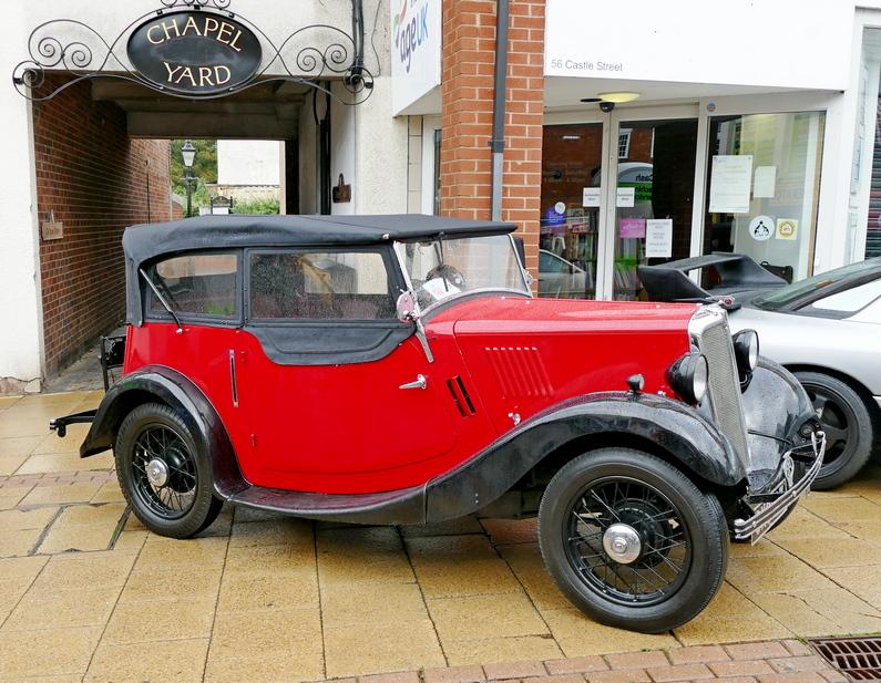 1936 Morris 8 Tourer four seater