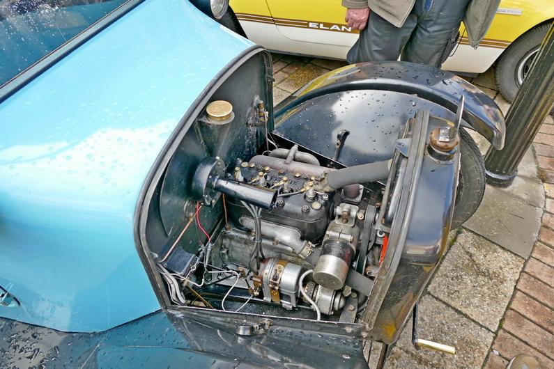 "c1924 Austin Seven ""Pram Hood"" Chummy engine"