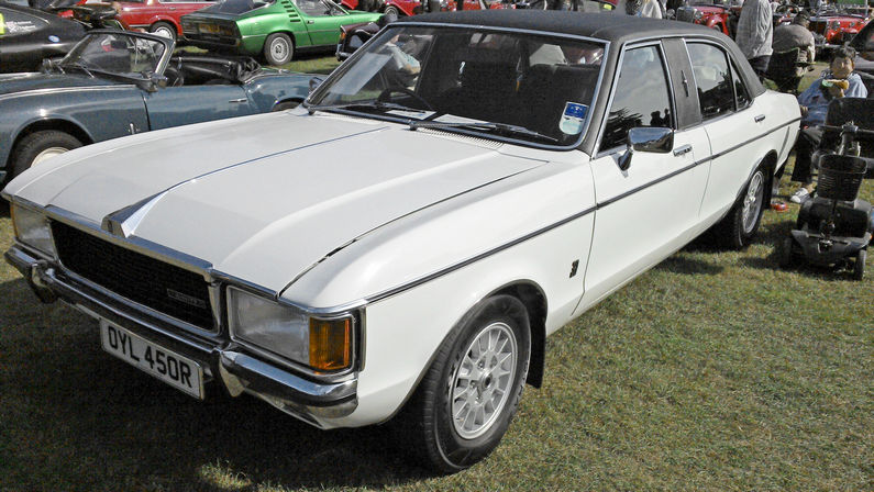 """1977 Ford Granada Mk. I Series II Stretched Limo """"Minster"""" by Colman Milne"""