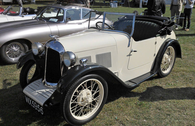 c.1929 Austin Swallow 2 seater DHC by the Swallow Sidecar & Coachbuilding Company