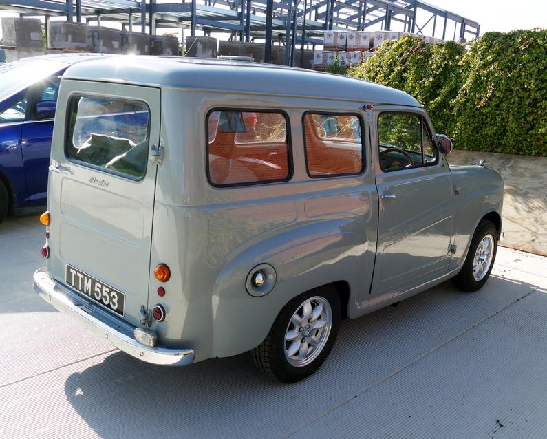 Austin A35 Van converted to a 'Countryman'