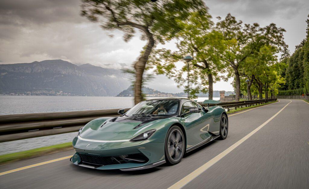 Automobili Pininfarina Battista Verde Paradiso